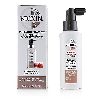 Nioxin Diameter System 3 Scalp & Hair Treatment (Colored Hair, Light Thinning, Color Safe) 100ml/3.38oz