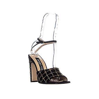 Sergio Rossi Womens SCARPE DONNA Leather Open Toe Ankle Strap Classic Pumps