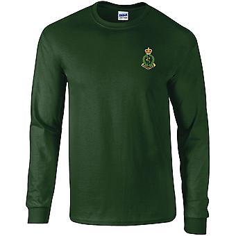 Royal Army Medical Corps-licenseret British Army broderet langærmet T-shirt