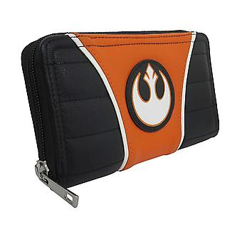 Star Wars Rebel Alliance vrouwen ' s rits portemonnee