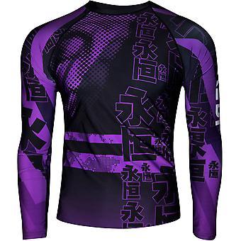 Dokebi Eternal Long Sleeve BJJ Rashguard - Purple