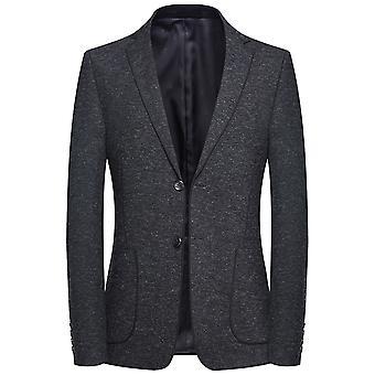 Allthemen barbati ' s solid Slim Fit casual costum de toamna sacou