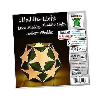 Kit å gjøre 3 jul Design Origami papir Lanterns - middels