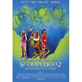 Scooby Doo 2 (Double Sided Regular) Original Cinema Poster
