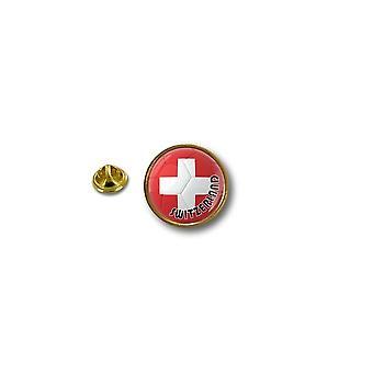 Pine Pines PIN rinta nappi PIN-apos; s metalli biker biker lippu ilma pallo jalka Sveitsi