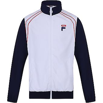 Fila Vaughn Piped Track Jacket White 83