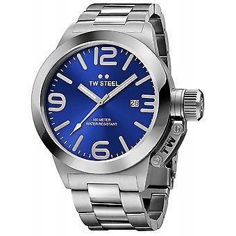 TW Steel CB12 Canteen Blue Dial Wristwatch
