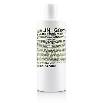 Malin+goetz Rum Hand+body Wash - 473ml/16oz