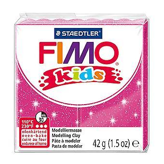 STAEDTLER 42 g fimo Kids blocs individuels (Glitter Pink)