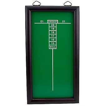 Green Cricketeer Dart Chalkboard