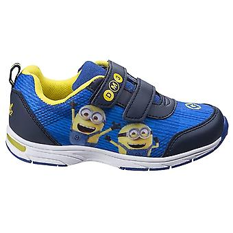 Leomil Childrens/Kids Minions Touch Fastening Trainer
