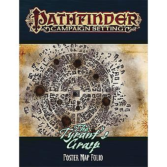 The Tyrants Grasp Poster Map Folio Pathfinder Campaign Setting