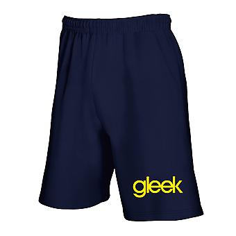 Pantaloncini tuta blu navy fun1582 gleek glee geek