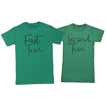 First Twin, Second Twin - Twin Set - Mens & Womens T-Shirts - (Sold Separately)