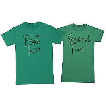 Erste Twin, zweite Twin - Twin Set - Herren & Damen T-Shirts - (separat verkauft)