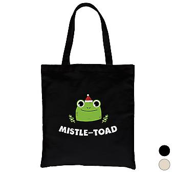 Mistle padde Cool Christmas lerret bag ferie gave