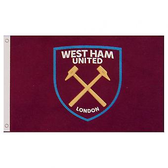 West Ham United FC Flag