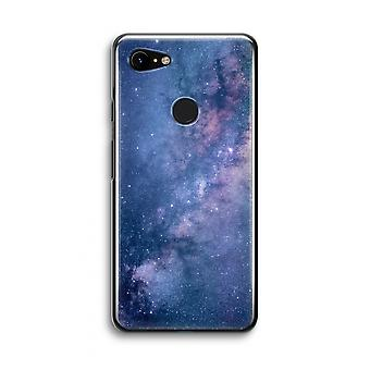 Google Pixel 3 Transparent Case (Soft) - Nebula