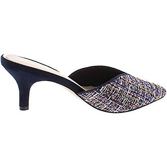 Callisto of California Womens Essex Woven Pointed Toe, Navy/Multi, Size 11.0