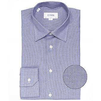 Eton Slim Fit camisa Micro patrón