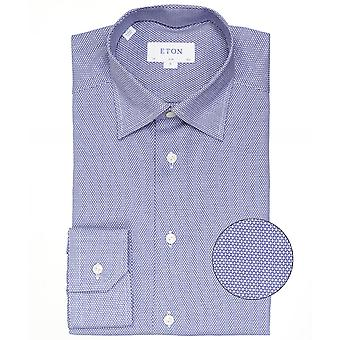 Eton Slim Fit Micro patroon Shirt