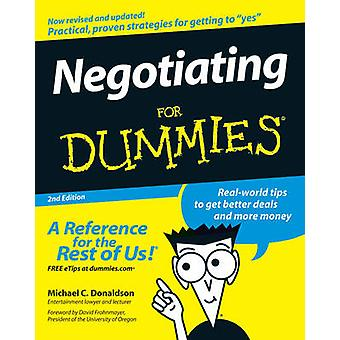 Negotiating For Dummies by Michael C. Donaldson