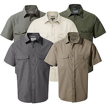 Craghoppers Mens Kiwi Short Sleeve Shirt