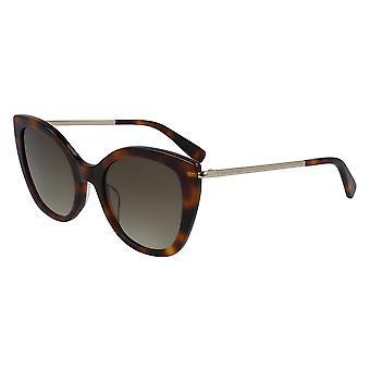 Longchamp LO636S 214 Havana/Brown Gradient Sunglasses