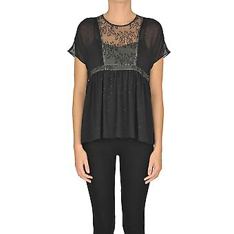 Nenette Ezgl266055 Women's Black Polyester Top
