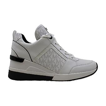 Michael Michael Michael Kors Donne Georgie Trainer Low Top Lace Up Fashion Sneakers