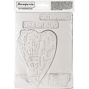 Stamperia Cling Stamp 5.90