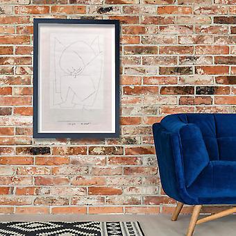 بول كلي-Es وينت 1939 Giclee طباعة ملصق