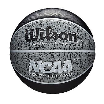 Wilson NCAA Battleground Indoor/Outdoor Basketball Black/Grey Size 7