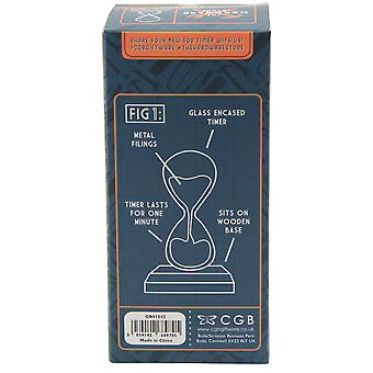 CGB Giftware De Hardware Store One Minute Egg Timer