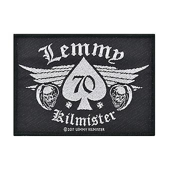 Lemmy 70 Woven Patch