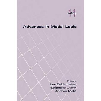 Advances in Modal Logic Volume 11 by Beklemishev & Lev