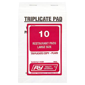 Robinson Young Triplicate Restaurant Pads