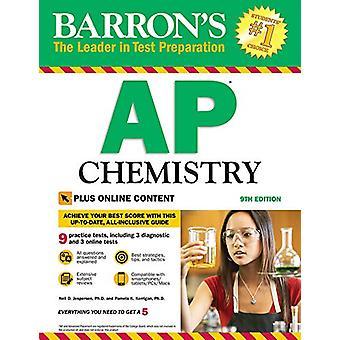 Barron's AP Chemistry with Online Tests by Neil D. Jespersen - 978143