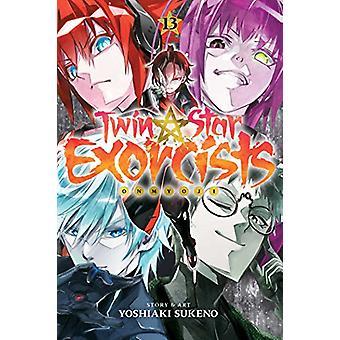 Twin Star Exorcists - Vol. 13 by Yoshiaki Sukeno - 9781974701452 Book