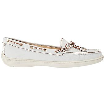 Marc Joseph New York Womens 25863-W Leather Closed Toe Boat Shoes