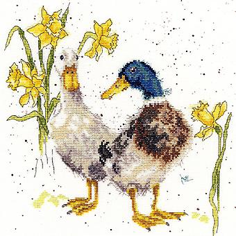 Bothy Threads Cross Stitch Kit - Eenden en Daffs