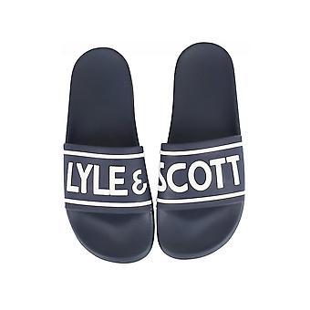 Lyle & Scott | Fw1006 Wallace Klip Flop Skydere - Dark Navy