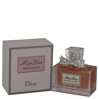 Miss Dior Absolutely Blooming Eau De Parfum Spray By Christian Dior 1.7 oz Eau De Parfum Spray