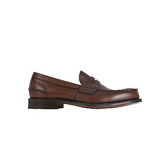 Church's Edb0039fgf0acl Men's Brown Leather Loafers
