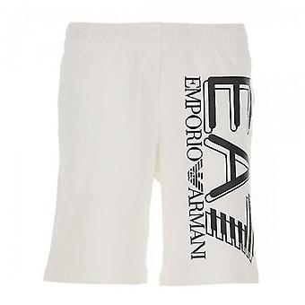 EA7 Emporio Armani EA7 Bermuda Logo Jogging Pantaloncini Grigio 3HPS59 PJ05
