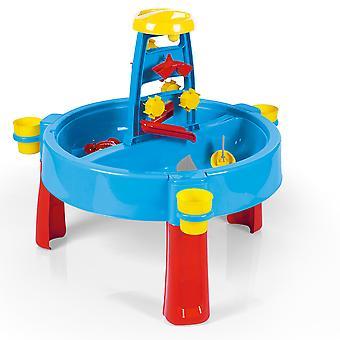Dolu Kids 3-i-1 Sand & Water Pit med tegnebord Udendørs Legetøj Have Multi funktion Play Station Desk Farvelægning