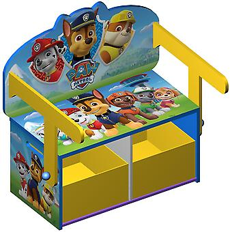 Kiddi Style Paw Patrol Convertible Toy Box