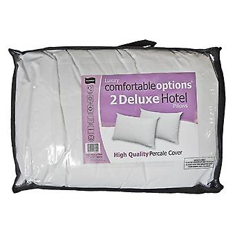 Comfortable Options Hotel Pillows (Pack Of 2)