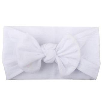 Newborn Toddler Baby Girls Head Wrap - Rabbit Big Bow Knot Turban Headband