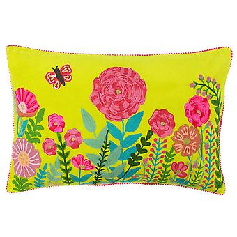 Paoletti Country Garden Cushion Cover
